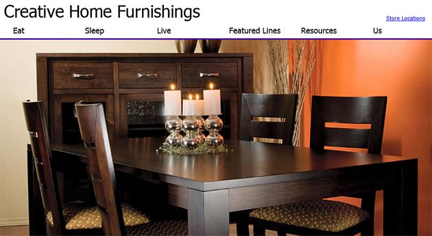 Creative Home Furnishings Online
