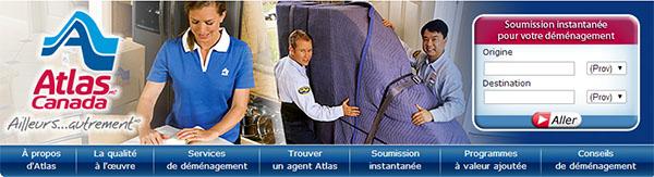 Déménagement Atlas Van Lines En Ligne