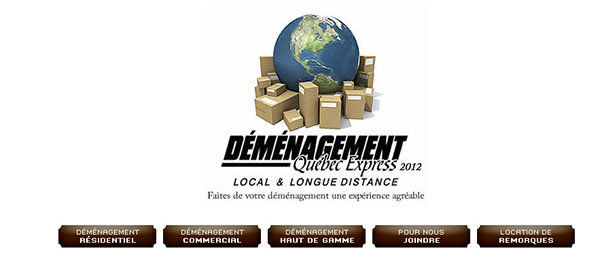 Déménagement Québec Express En Ligne