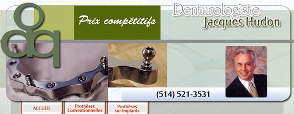 Denturologiste Jacques Hudon En Ligne