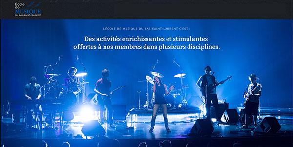 école De Musique Du Bas Saint Laurent En Ligne