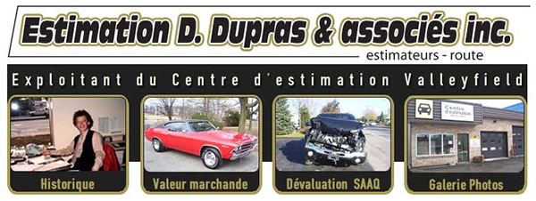 Estimation évaluation Automobile Dupras