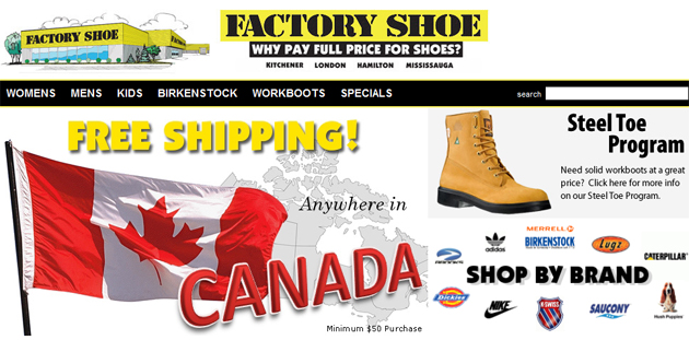 Factory Shoe Online