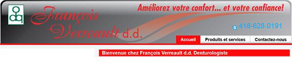 François Verreault Denturologiste En Ligne
