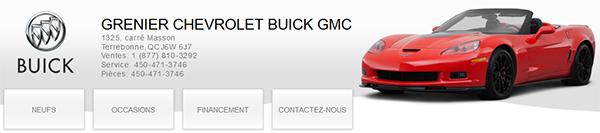 Grenier Chevrolet Buick Gmc En Ligne