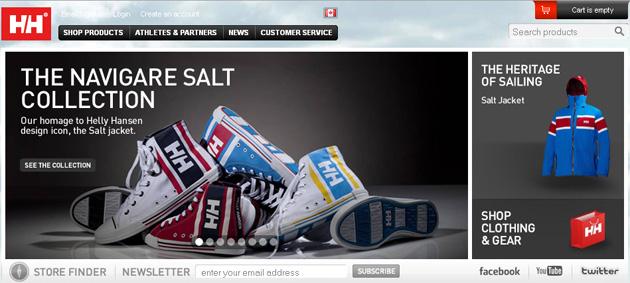 Helly Hansen Online Store