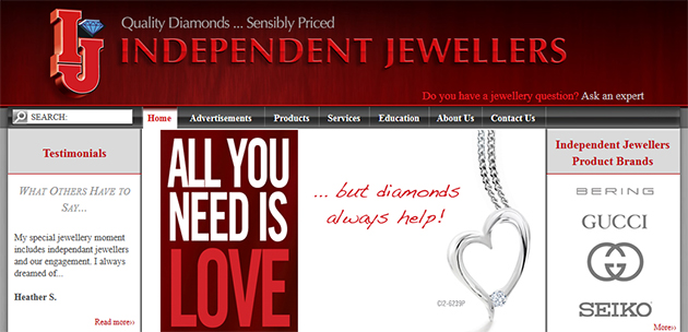 Independent Jewellers Online