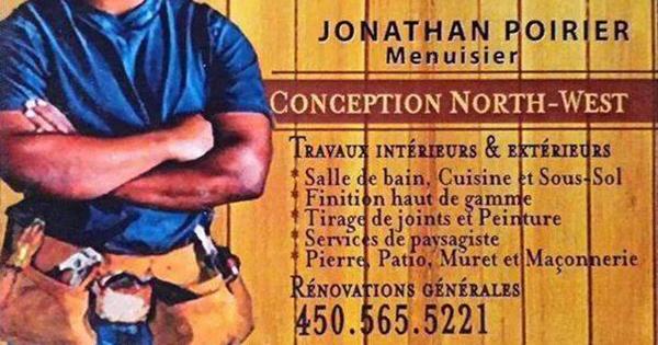 Jonathan Poirier Menuisier