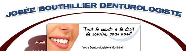 Josée Bouthillier Denturologiste En Ligne