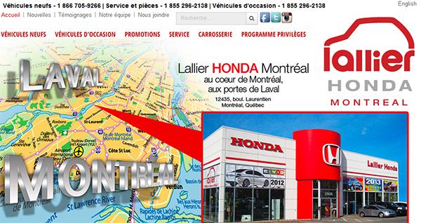 Lallier Honda Montréal En Ligne