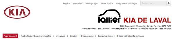 Lallier Kia De Laval En Ligne