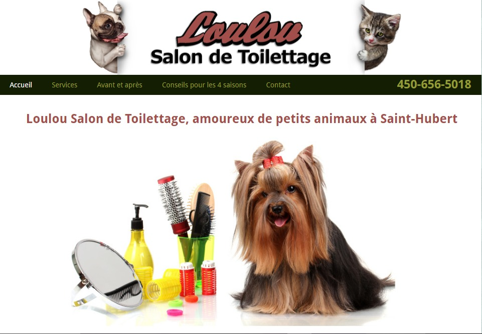 Loulou Salon De Toilettage En Ligne
