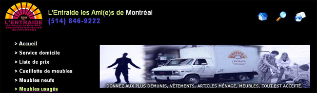 Meubles Lentraide Les Amis De Montreal En Ligne