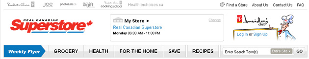 Real Canadian Superstore Grocery Online