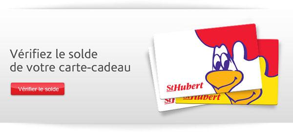 Solde Carte Cadeau St Hubert