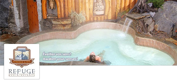 Spa Auberge Le Refuge Morin Heights