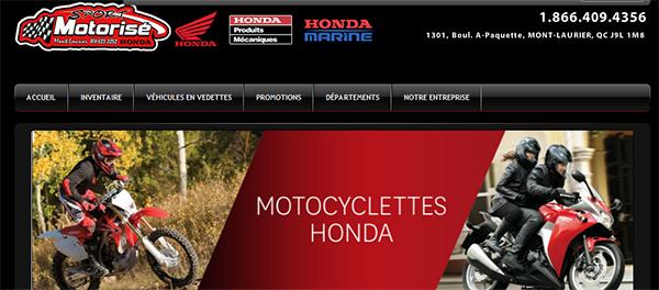 Sport Motorisé Honda En Ligne