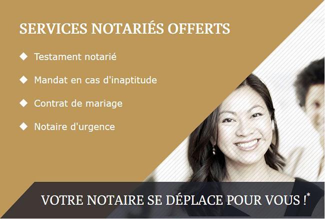 Testament Notarié, Notaire D