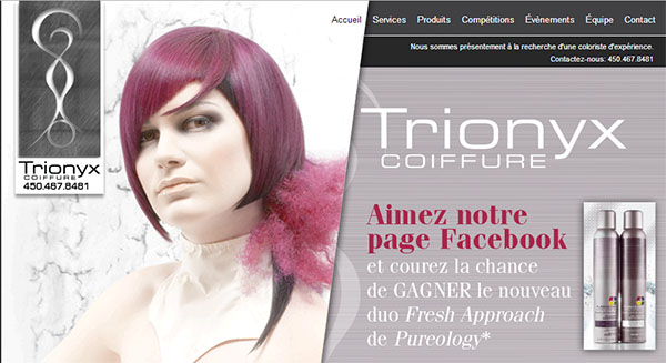 Trionyx Salon Coiffure