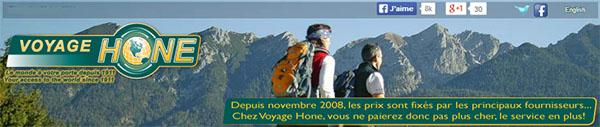 Voyage Hone En Ligne